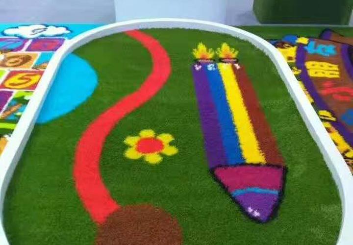 草坪塑胶悬浮